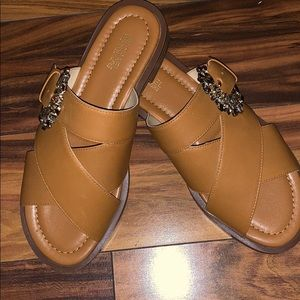 BRAND NEW Michael Kors leather sandals